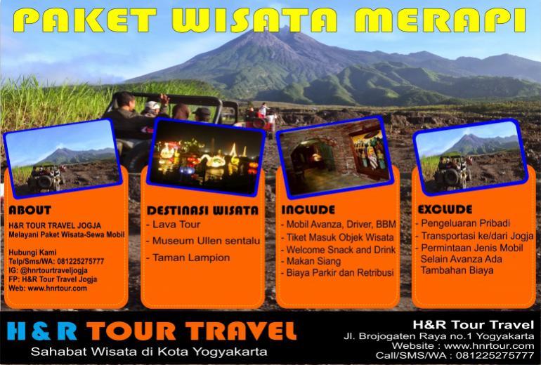 Paket Wisata Merapi