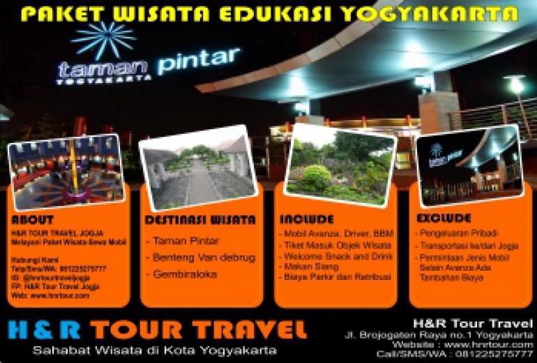 Paket Wisata Edukasi Yogyakarta