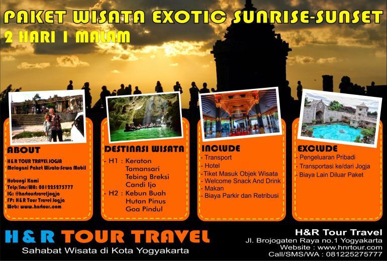 Paket Wisata Exotic Sunrise Sunset