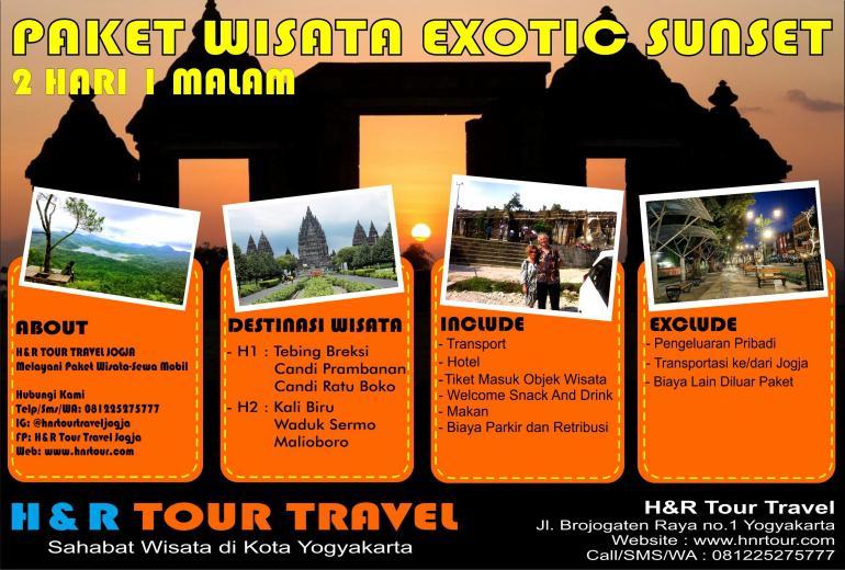 Paket Wisata Exotic Sunset