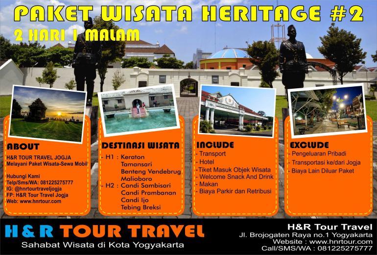 Paket Wisata Heritage 2