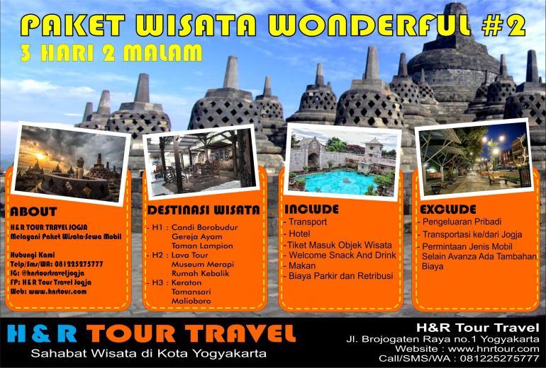 Paket Wisata Wonderful 2