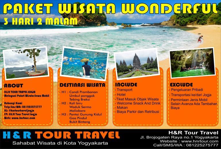 Paket Wisata Wonderful