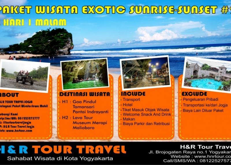 Paket Wisata Exotic Sunrise Sunset 2