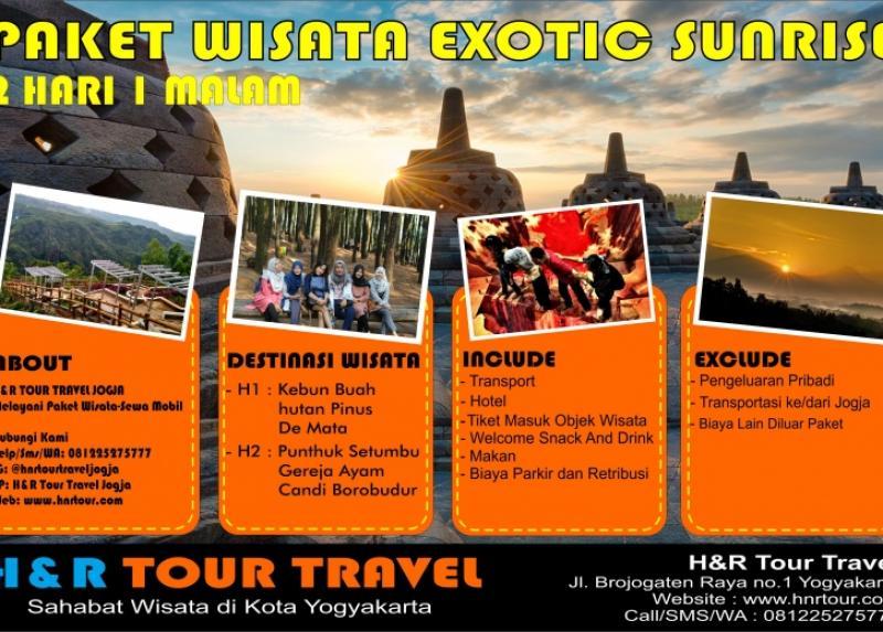 Paket Wisata Exotic Sunrise